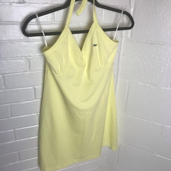 Lacoste Dresses & Skirts - {Lacoste} Halter Sports Dress